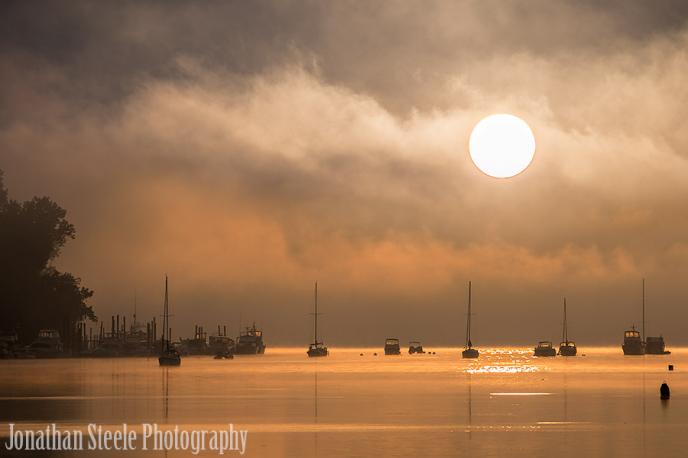 Sunrise on the River - Prepared for Luck - Jonathan Steele Photography